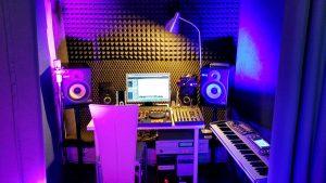 Prezent nagranie w studio nagrań